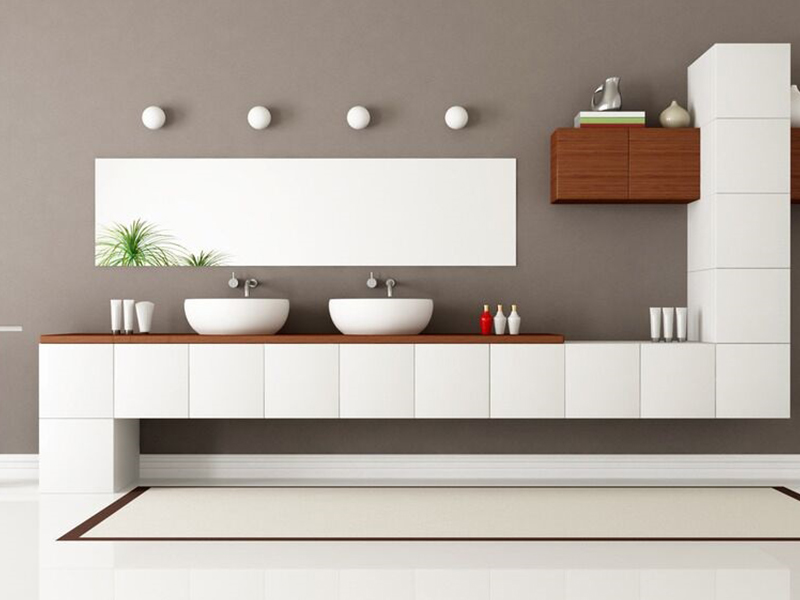 the space saving corner toilet  -  small wall hung lavatory