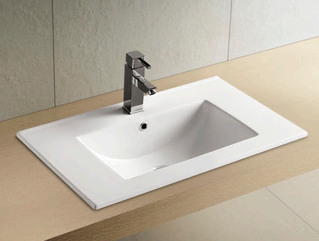 advantages of using a copper vessel sink  -  small sink in bathroom
