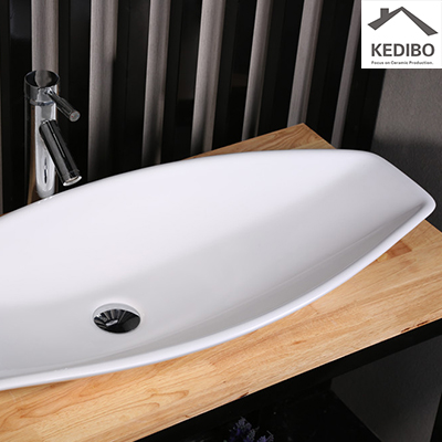 the emperor 48 rules when it comes to luxurious living  -  double wall sink