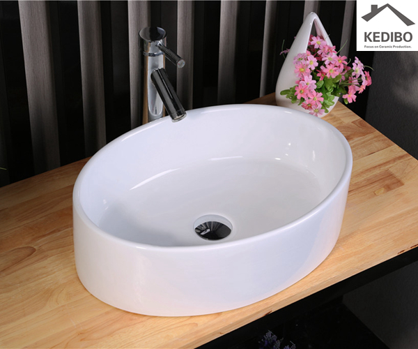 fix up the tub without getting soaked  -  cast iron wall mount bathroom sink