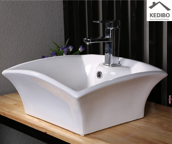 art, fashion and feng shui increase positive energy  -  how to fit a wall hung basin