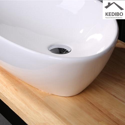 leavings  -  recessed sink in wall