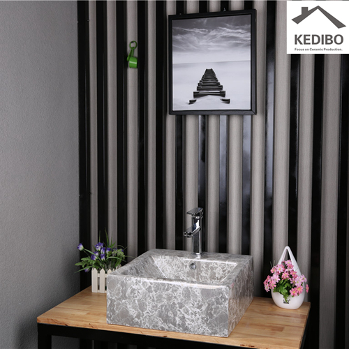 give your bathroom an easy makeover with a bath vanity cabinet  -  sink attached to wall