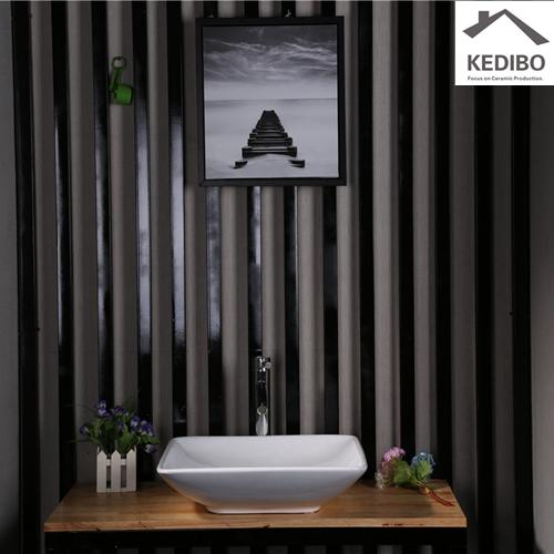 vietnam: a moving story  -  long narrow bathroom sink