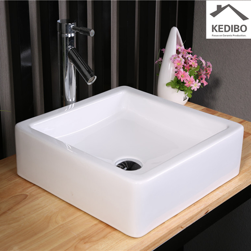 making the most of a small space  -  sink attached to wall