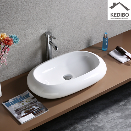 french cleat  -  traditional wall mounted sink