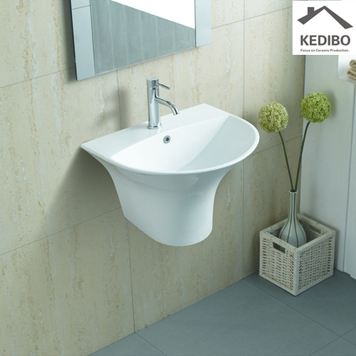 Finding the wow factor: Bathroom renovations blend existing features with modern upgrades  -  commercial wall hung sink
