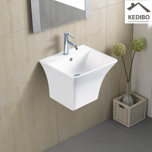 -  wall hung wash hand basin