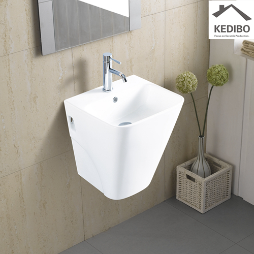 how to create the perfect gallery wall  -  how to fit a wall hung basin