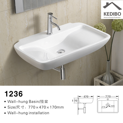vintage accessories for your home  -  wall hung wash hand basin