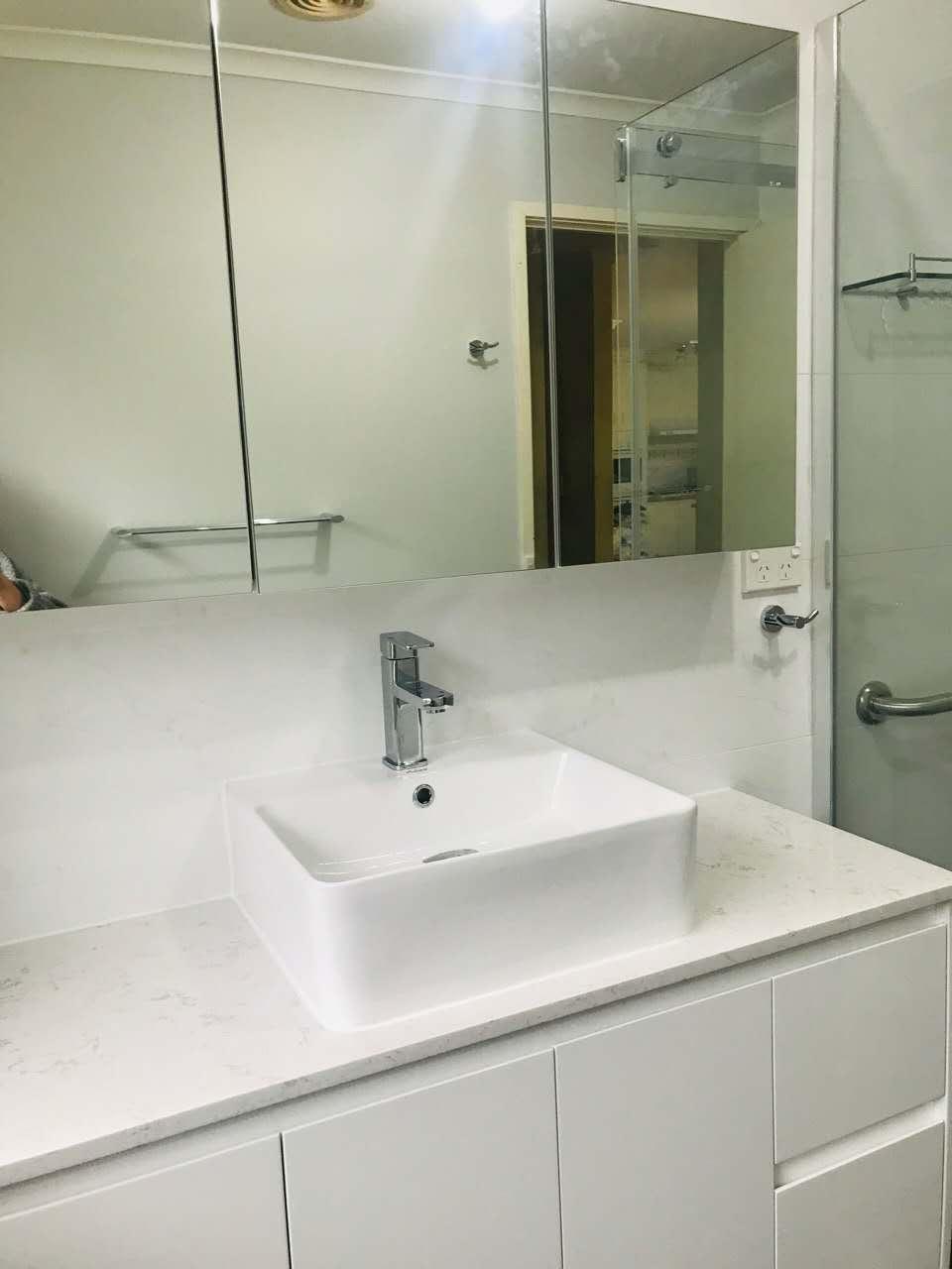 Kanye West spent $85k on photo of Whitney Houston\'s drug-strewn bathroom for album cover  -  wall mount bathroom sink vanity