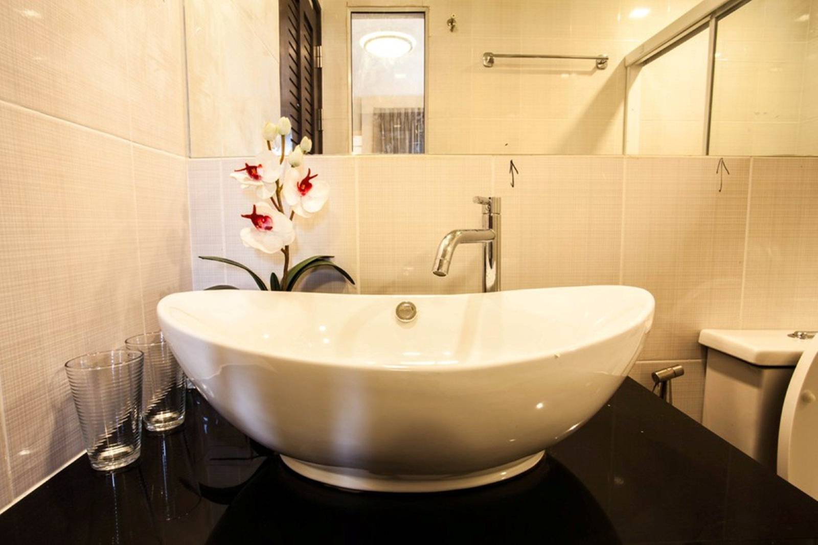 retirement and the relationship with your spouse: part 2  -  small washroom sink